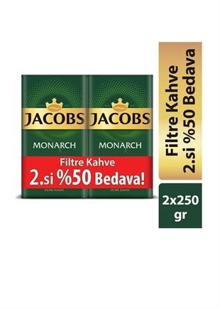 Jacobs Monarch Filtre Kahve 250 Gr - 2li